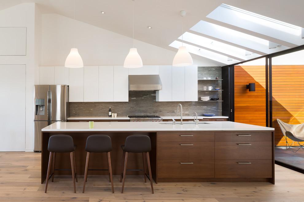 Oakland Hills Modern Kitchen - Modern - Kitchen - San ...