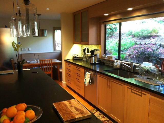Oakland Hills contemporary-kitchen
