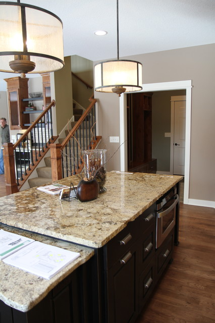 Oakland Model in Maple Grove traditional-kitchen