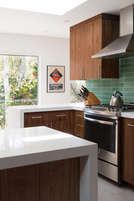 Oakland montclair interior renovations midcentury for Oakland kitchen design