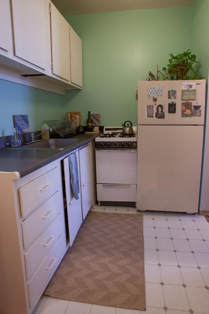 Oakland Studio Apartment Traditional Kitchen San
