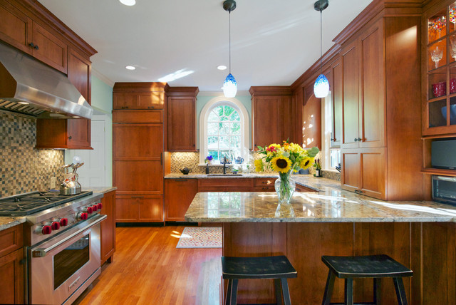 Settle In transitional-kitchen