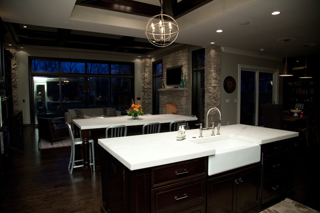 Oakley Home Builder contemporary-kitchen