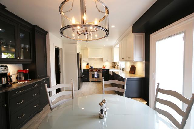The Works Oakville >> Oakville Cape Cod Kitchen Toronto By Interior Works Inc