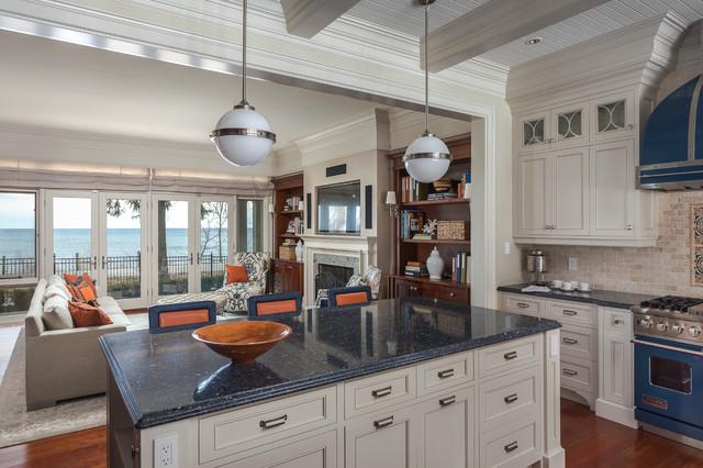 Oakville Lakeside Residence Traditional Kitchen