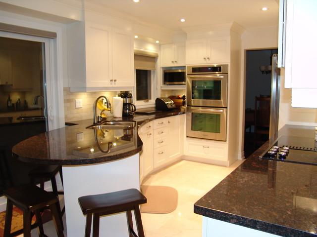 Oakville Residence Kitchen Transitional Kitchen