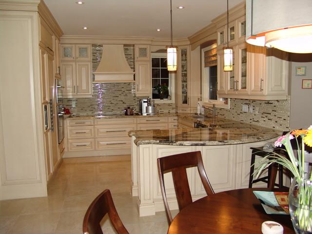 Oakville Residence traditional-kitchen