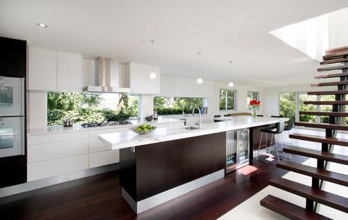 Island bench colour - Modern kitchen bench ...