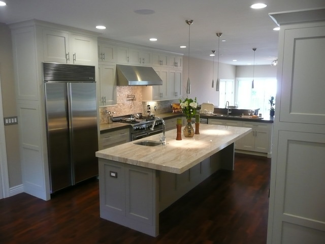 Oatmeal Kitchens Cabinets Traditional Kitchen San Francisco By Marin Kitchen Co