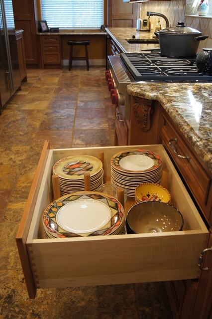 Observatory Park Kitchen Remodel mediterranean-kitchen