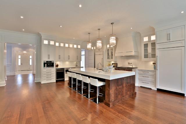 Oc57 White Heron Kitchen Transitional Kitchen