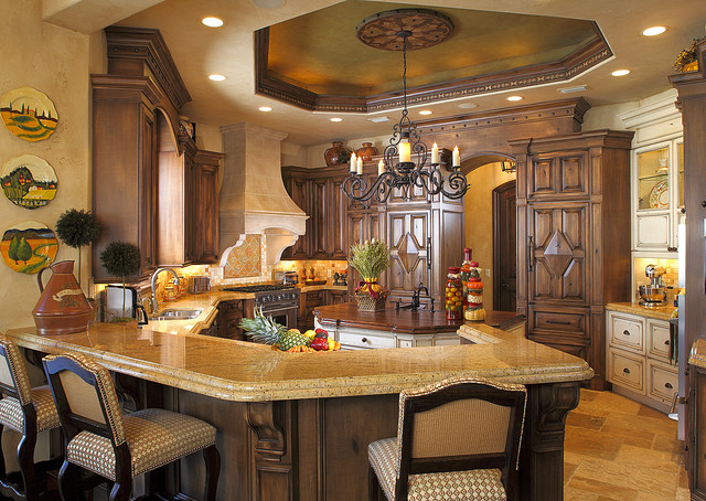 Ocala mediterranean kitchen other metro by busby for Bath remodel ocala fl
