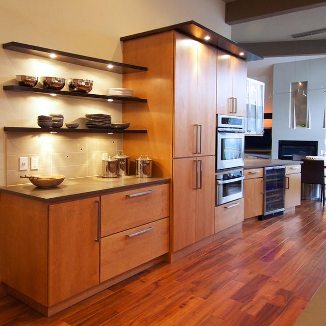 Contemporary Kitchen Houzz: Contemporary