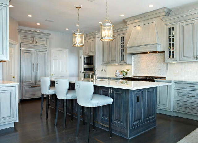 Ocean Drive - Traditional - Kitchen - New York - by Donna Benedetto Designs LLC.