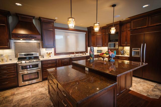 ocean front estate traditional kitchen vancouver by denise. Black Bedroom Furniture Sets. Home Design Ideas