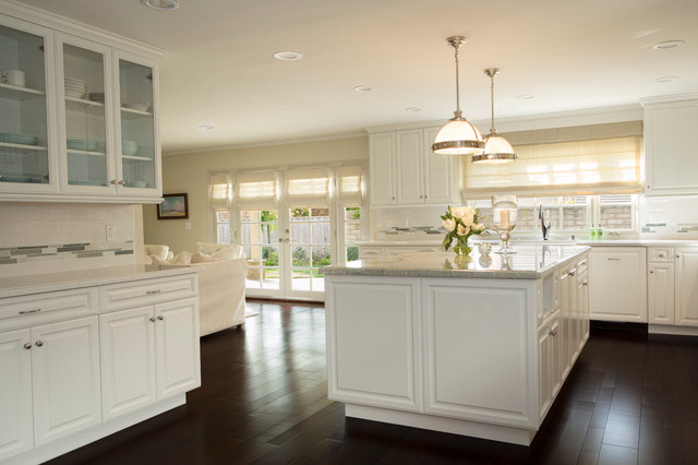 Ocean Inspired Kitchen Transitional Kitchen Los Angeles By Talianko Design Group Llc