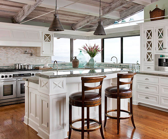 ocean inspired contemporary kitchen los angeles by