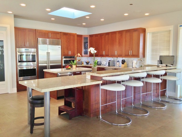 Ocean View Home Contemporary Kitchen San Diego By