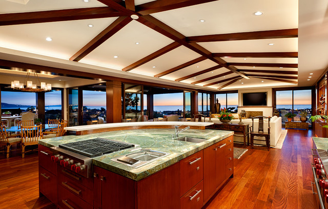 Ocean view manhattan beach home contemporary kitchen los angeles by tomaro design group Kitchen design center virginia beach