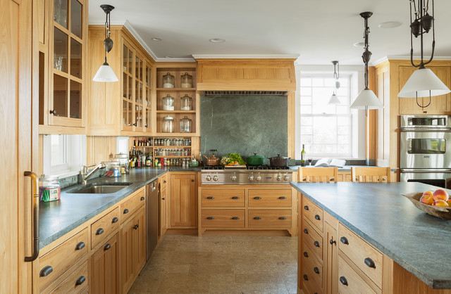 Oceanfront Cottage Traditional Kitchen Portland