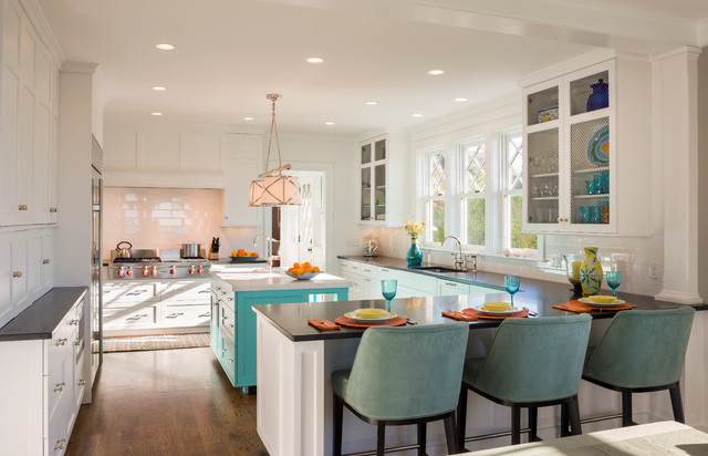 Oceanfront Leed Silver Home Beach Style Kitchen