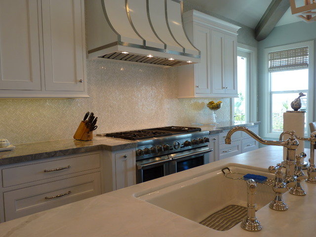 Oceanside renovation ponte vedra blvd beach style kitchen jacksonville by dean russell Kitchen design gallery beach boulevard jacksonville fl