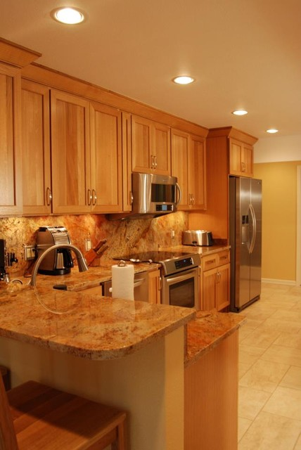 Oceanview anchorage kitchen traditional kitchen by for Anchorage kitchen cabinets