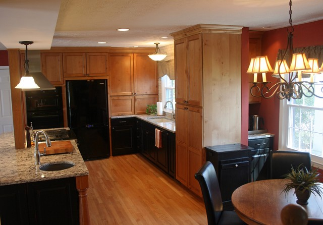 Odenton Kitchen Remodel Traditional Kitchen Baltimore By Aksent Interior Design
