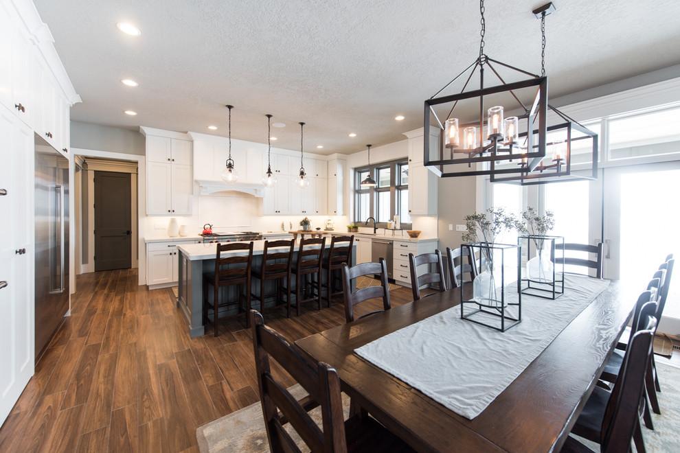 Ogden Residence - Transitional - Kitchen - Salt Lake City ...