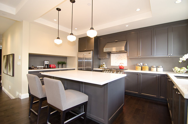 OH Custom 4 - Contemporary - Kitchen - other metro - by Odenza Homes Ltd