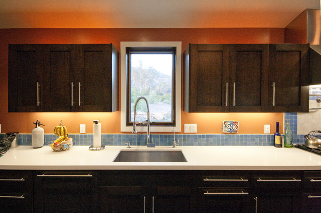 "Ojai ""Green"" House contemporary-kitchen"