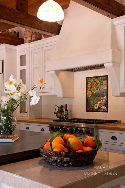 Ojai Spanish Kitchen Farmhouse