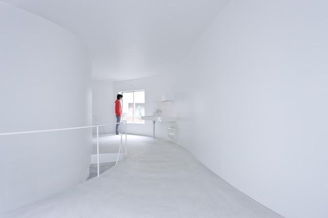 Okurayama Apartments contemporary-kitchen