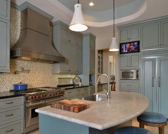 Slate Blue Cabinets Home Design Photos