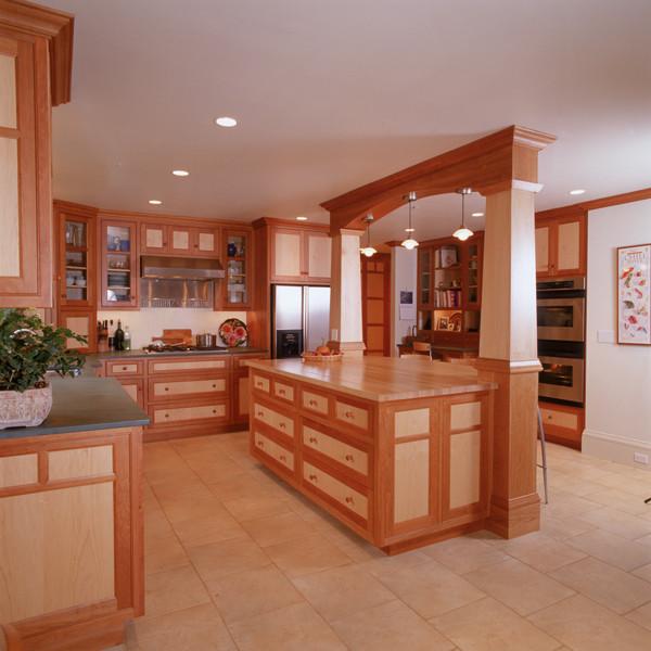 Savoie interior 1 traditional-kitchen