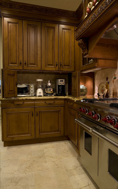 Old English Tudor - Kitchen remodel and Room addition traditional-kitchen