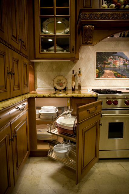 Old English Tudor - Kitchen remodel and Room addition - Classico ...