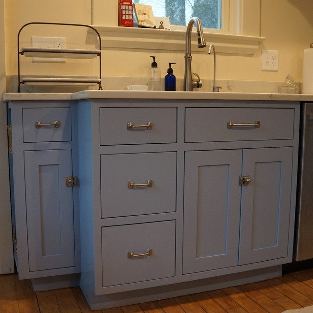 Old Fashioned Kitchen With Latches