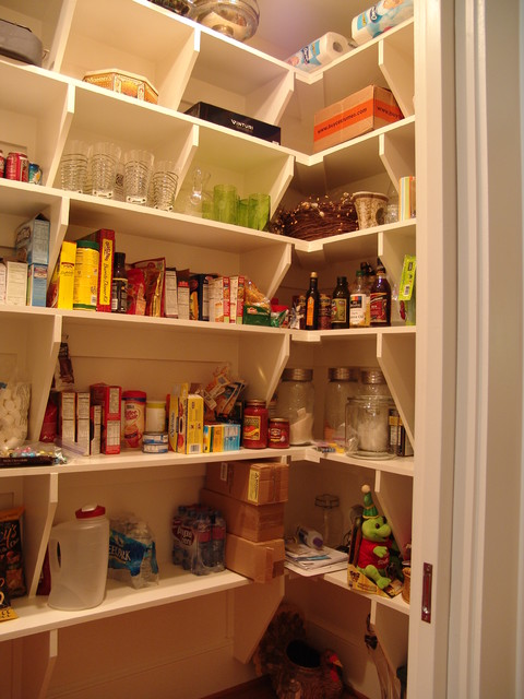 Old Fashioned Pantry Traditional Kitchen Atlanta