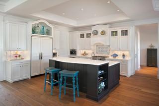 old florida home kolonialstil k che miami von. Black Bedroom Furniture Sets. Home Design Ideas
