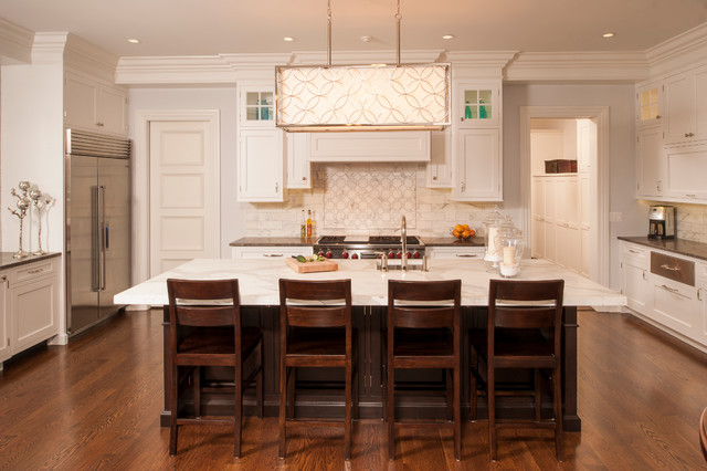 Old Greenwich New Construction traditional-kitchen
