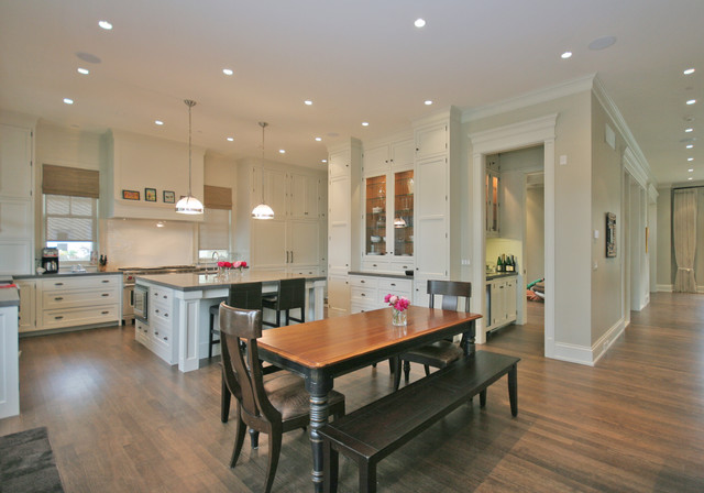 Old Irving Park Single-Family Home traditional-kitchen