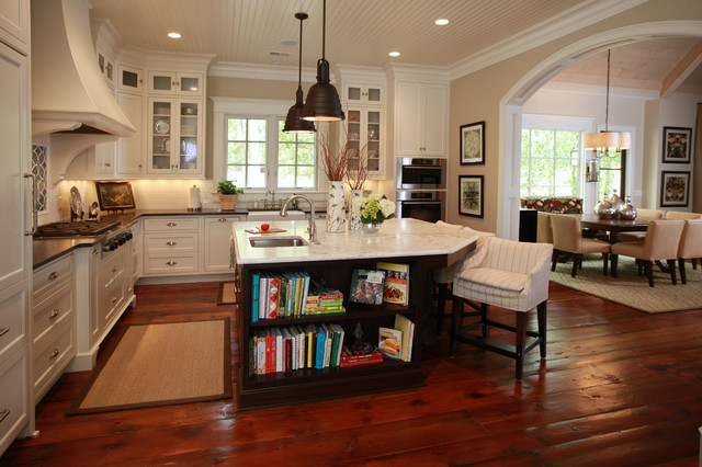 Old Meets New Build - Traditional - Kitchen - Atlanta - by Nandina ...