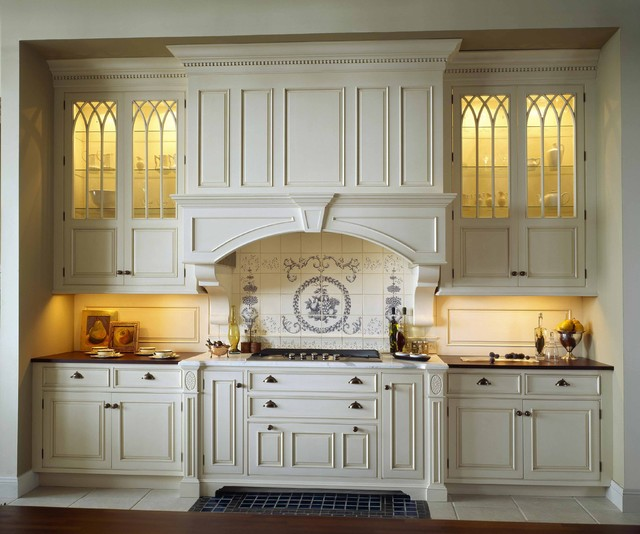 Classical French Kitchen Refit: Old Mill