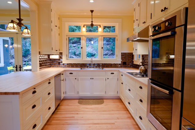 Old River Rd House Traditional Kitchen Portland By