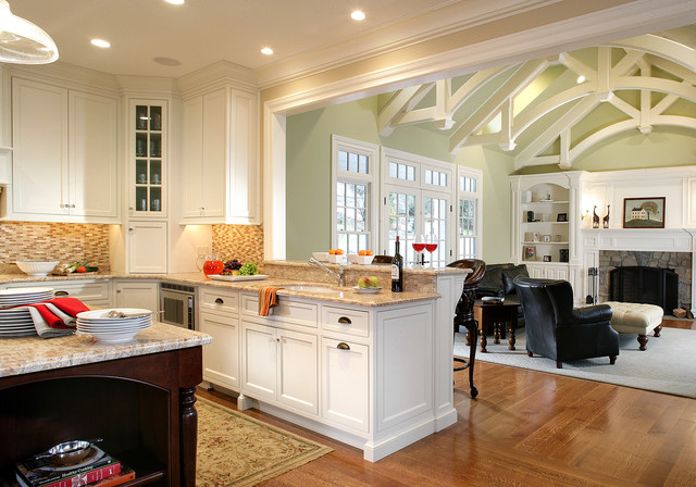 Old Tappan, NJ traditional-kitchen