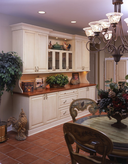 Old wold hutch addition traditional-kitchen