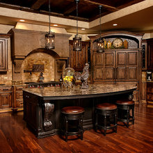 Old World Charm Cabinets: Custom Wood Products