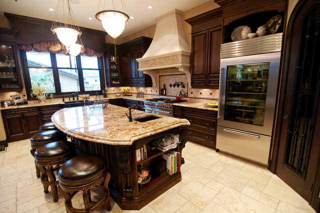Old world classic traditional kitchen other metro for Old world style kitchen designs