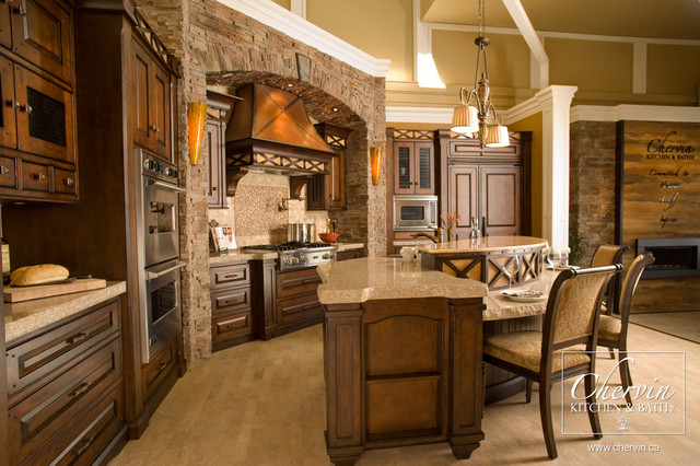 Old world kitchen rustic kitchen toronto by for Kitchen designs old world style
